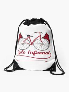 """Sac à cordons """"Cycle infernal"""""""